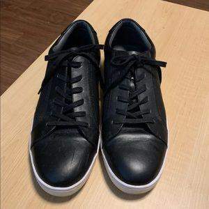Black Calvin Klein casual sneakers